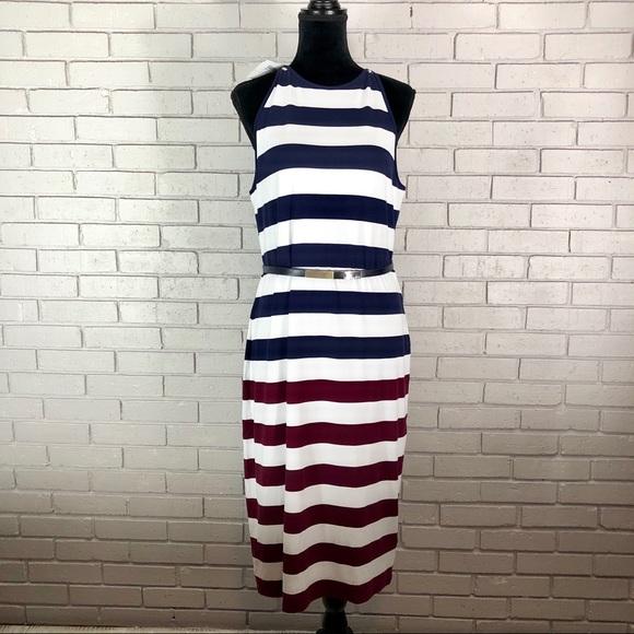 7ce961de79d8d0 Ted Baker Women s Yuni Rowing Stripe Bodycon Dress